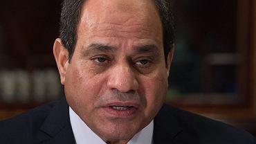 Prezydent Egiptu Abdul Fattah al-Sisi