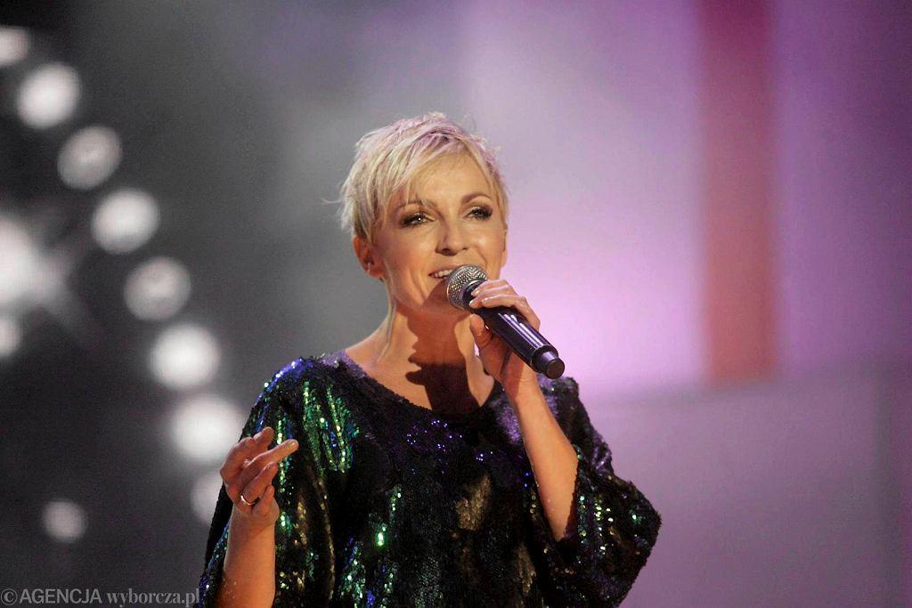 Anna Wyszkoni na gdańskim koncercie
