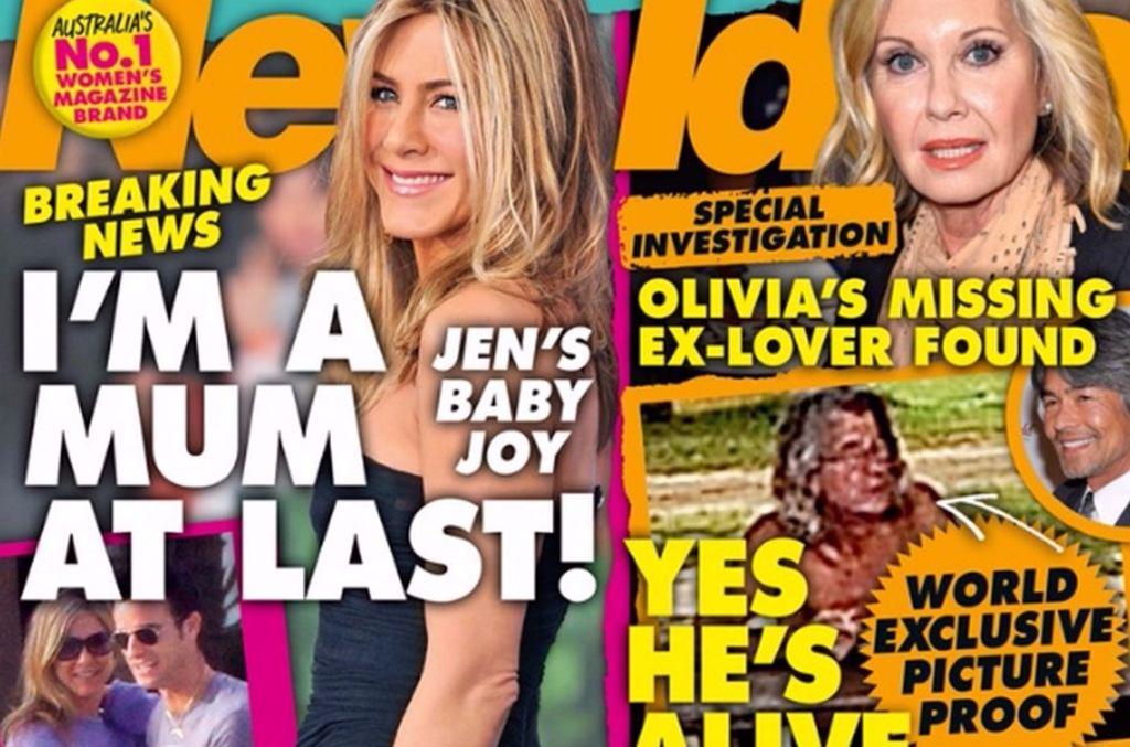 Jennifer Aniston w 'New Idea'