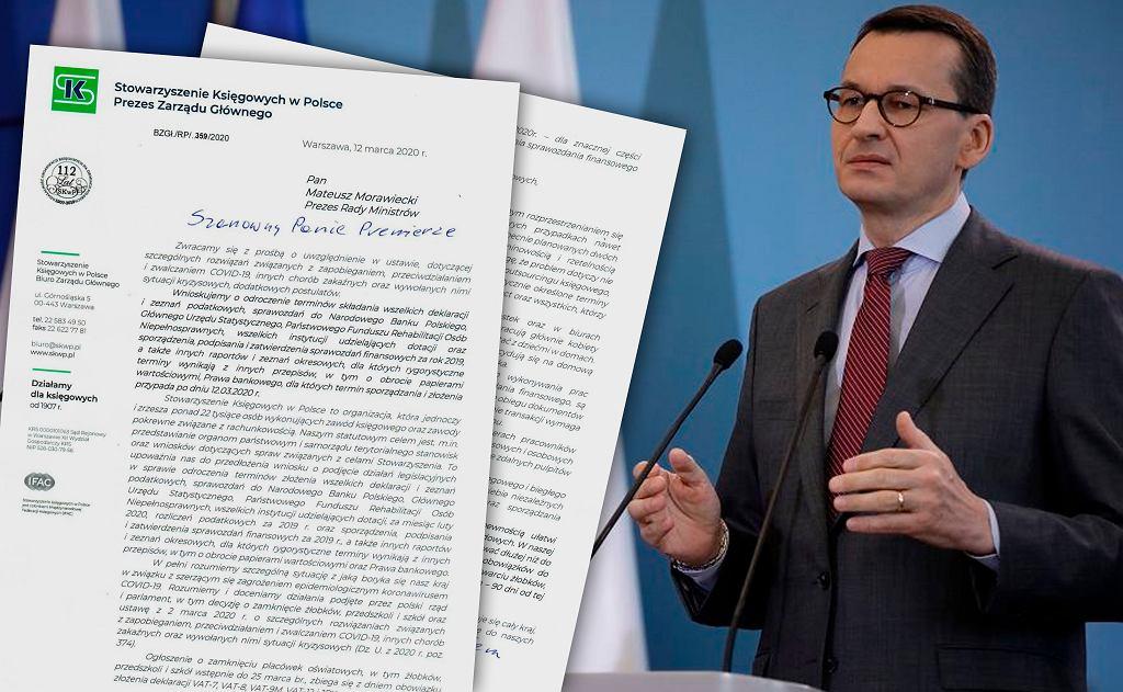Stowarzyszenie Księgowych w Polsce apeluje do premiera o przesunięcie terminów rozliczeń