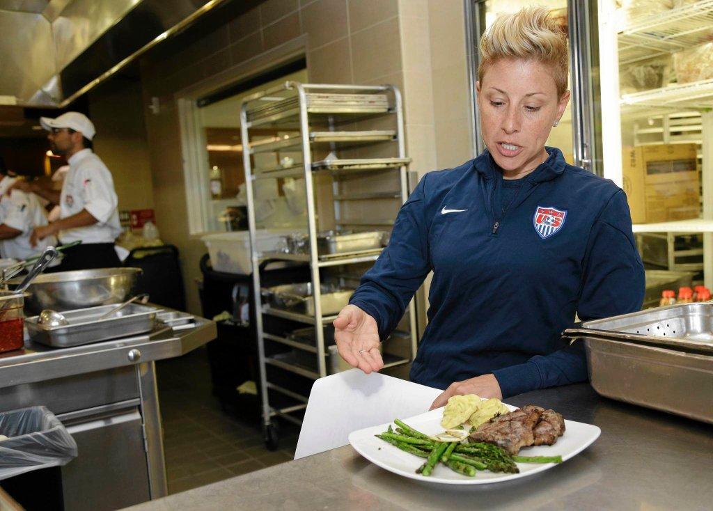 Dietetyczka kadry USA Danielle LaFata