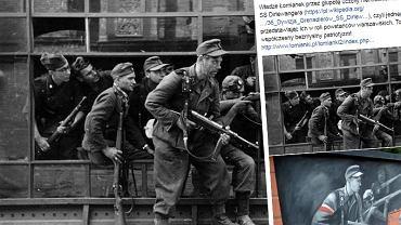Fatalny błąd na muralu w Łomiankach. Zamiast powstańców pojawili się na nim niemieccy zbrodniarze