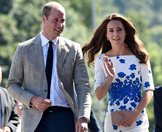 }The Duke & Duchess Of Cambridge are seen visiting Youthscape in Luton  Pictured: Kate & William, Duke & Duchess Of Cambridge,