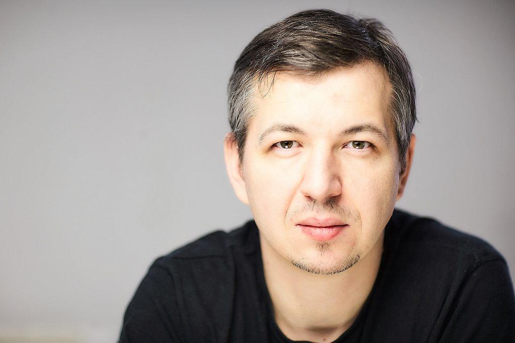 Bartosz Jóźwiak, promocja łódzkiej Gazety Wyborczej