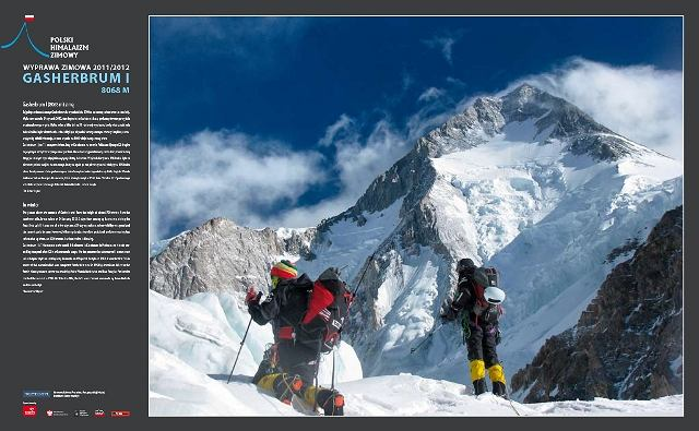 Zimowa wyprawa na Gasherbrum I