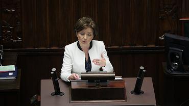 Ministra Marlen Maląg