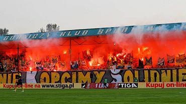 Mecz GKS-u Katowice z Zagłębiem Sosnowiec, 8 sierpnia 2015 r.