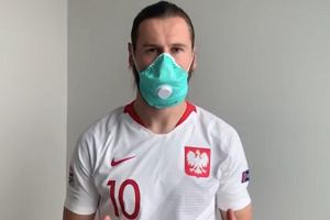 Krychowiak nagrał specjalny film przed wejściem nowego nakazu w Polsce