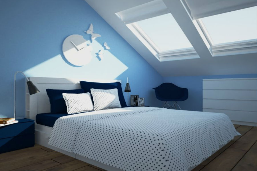 Modny Niebieski W Twoim Mieszkaniu