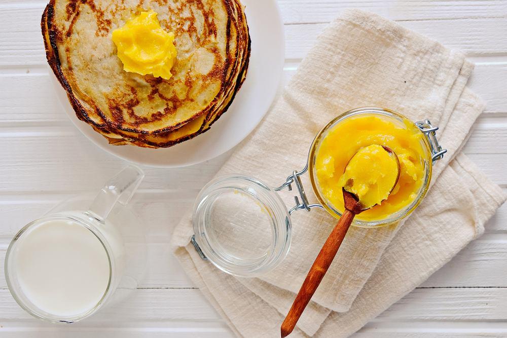 Masło klarowane to doskonały zamiennik zwykłego masła czy oleju.
