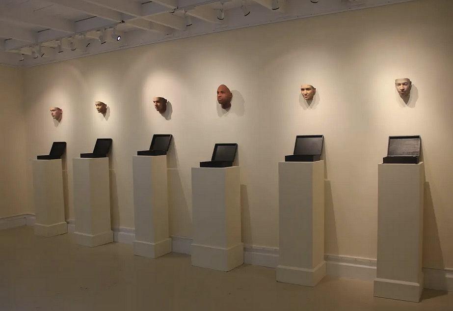 Portrety 3D wykonane na podstawie DNA z niedopałków papierosów