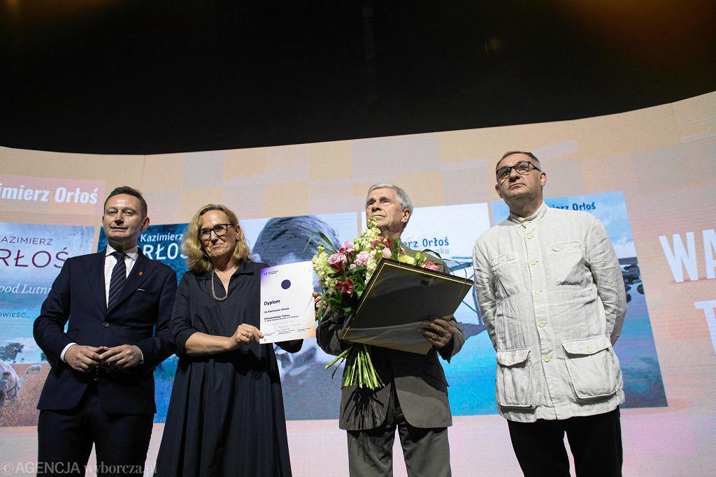 Nagroda Literacka miasta Warszawy. Kazimierz Orłoś laureatem tytułu Warszawski Twórca