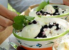 Ryż z twarożkiem i jagodami - ugotuj