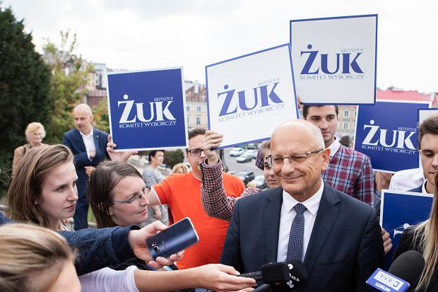 Krzysztof Żuk prezentuje 'Kontrakt dla Lublina'