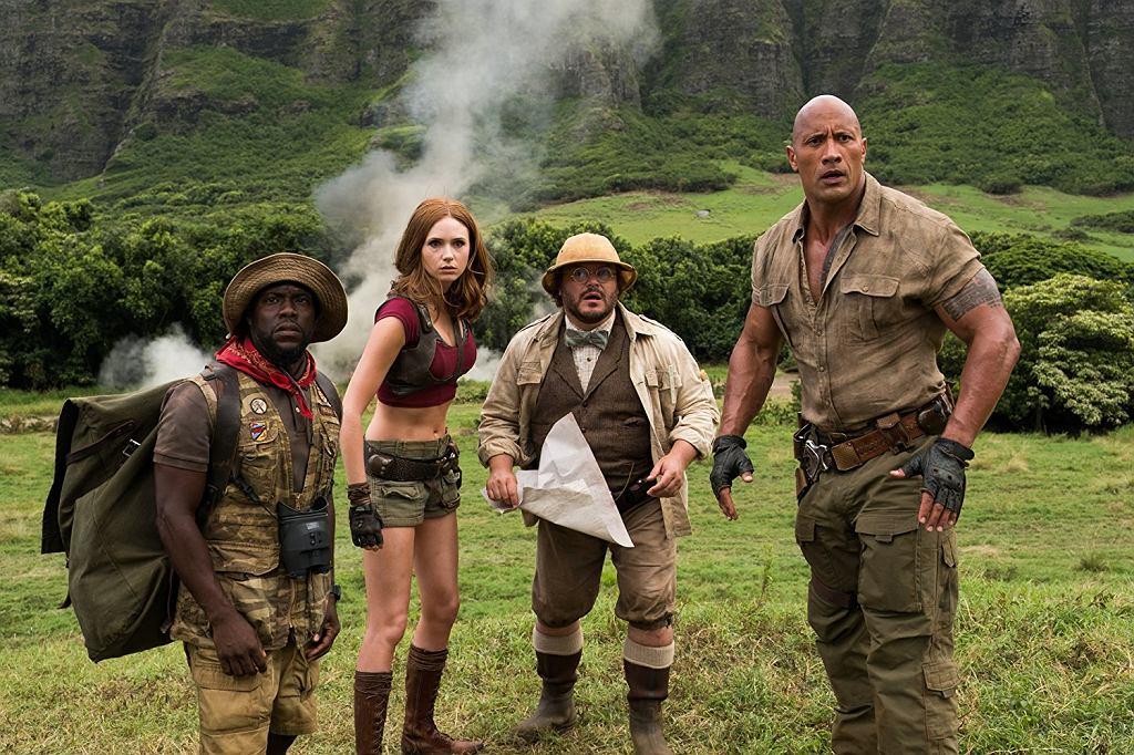 Kadr z filmu 'Jumanji: Przygoda w dżungli'