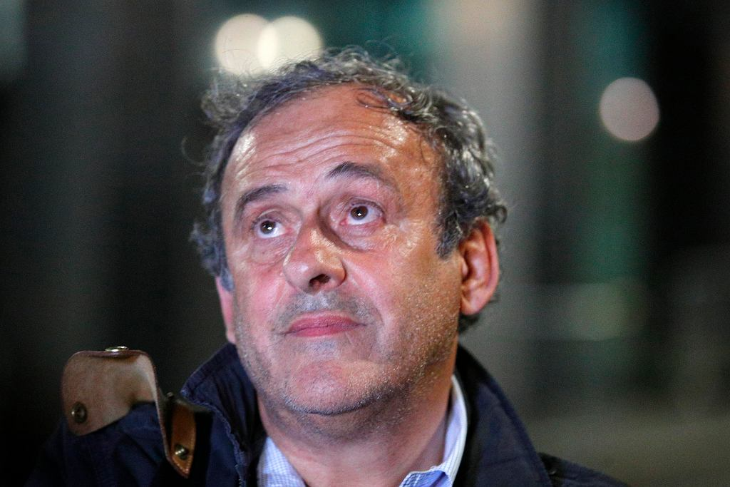 Michel Platini wyszedł na wolność. 'To nie było aresztowanie'