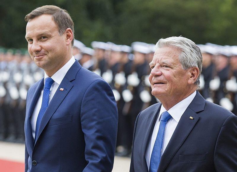 Joachim Gauck, Andrzej Duda