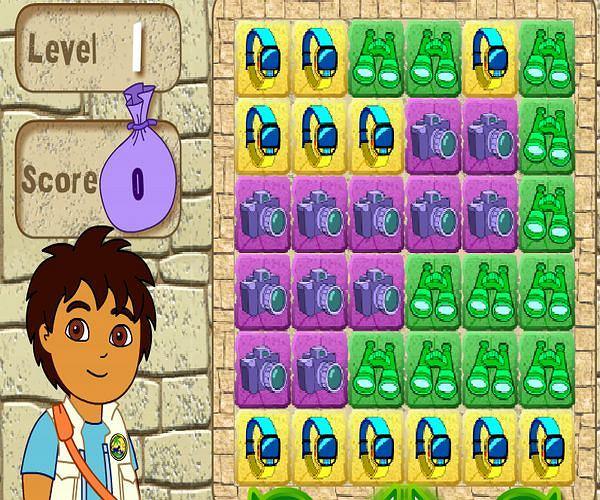 Ułóż puzzle z Diego