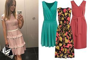 sukienki na przyjęcie rodzinne/mat. partnera/www.instagram.com/paulinasykutjezyna/