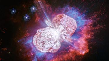 Zdjęcie Eta Carinae zrobione przez Kosmiczny Teleskop Hubble'a.