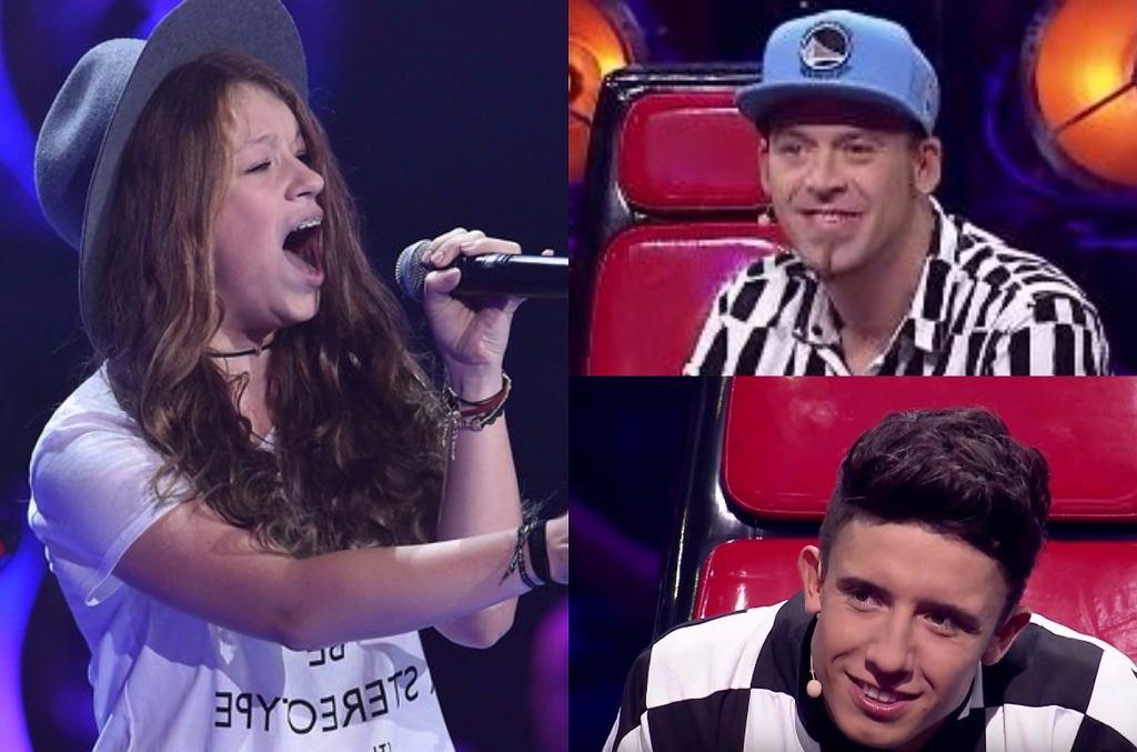 'The Voice Kids', Zuzia Jabłońska, Tomson, Dawid Kwiatkowski