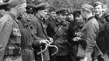 Spotkanie żołnierzy Wehrmachtu i Armii Czerwonej 20 września 1939 roku, na wschód od Brześcia