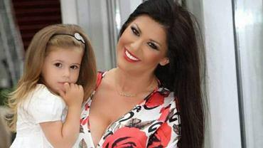 Iwona Węgrowska z córką