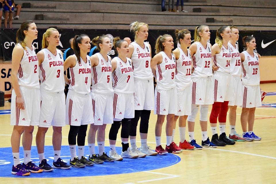Reprezentacja Polski koszykarek na meczach towarzyskich w Hiszpanii