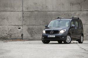 Mercedes Citan Kombi - test | Za kierownicą
