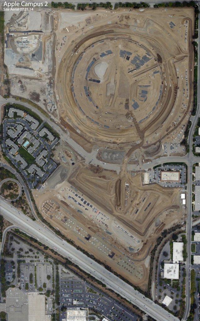 Stan budowy na 21 lipca 2014