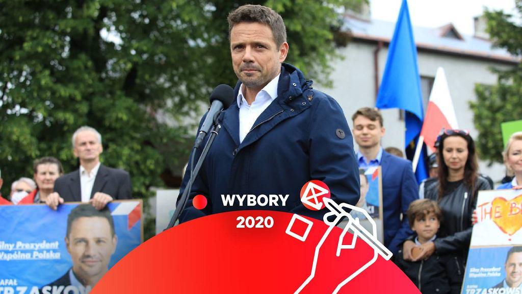 Rafał Trzaskowski w Urszulinie