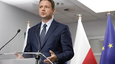 Kandydat na prezydenta Rafał Trzaskowski