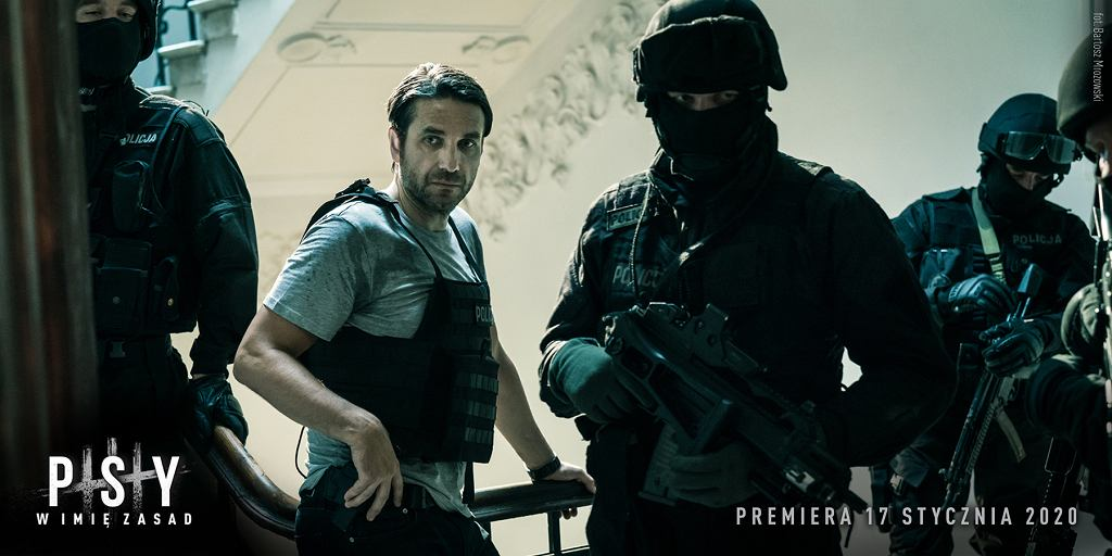 Marcin Dorociński w filmie 'Psy 3. W imię zasad'