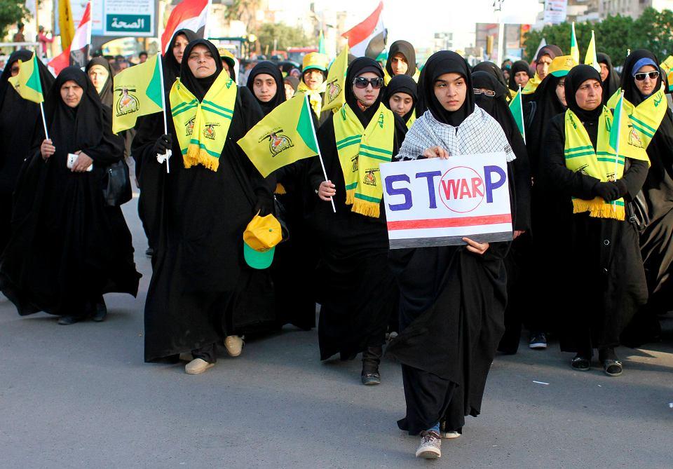 Demonstracja przeciwko wojnie w Jemenie