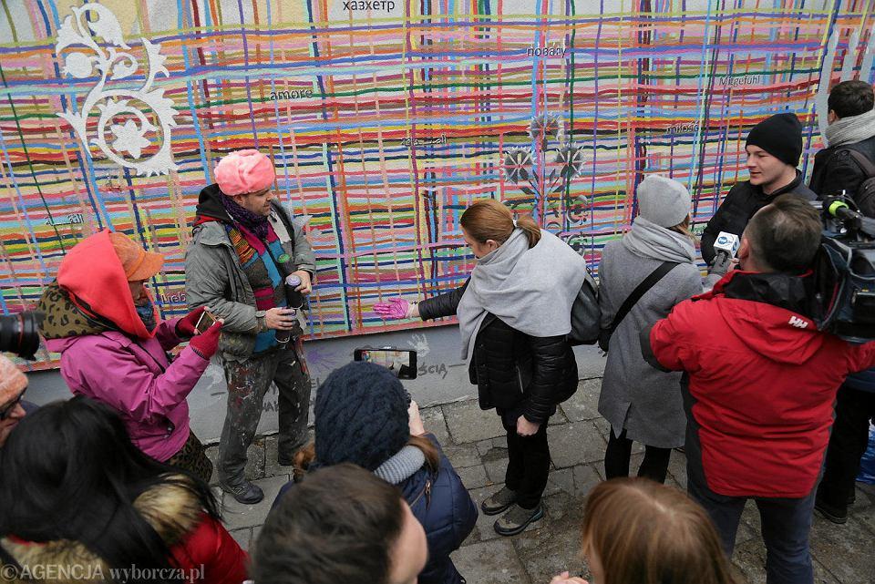 Naprawa białostockiego muralu
