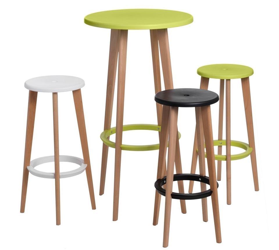 Smukły stolik to nowoczesne i designerskie rozwiązanie