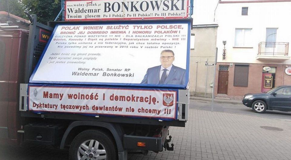 Kampania wyborcza Waldemara Bonkowskiego