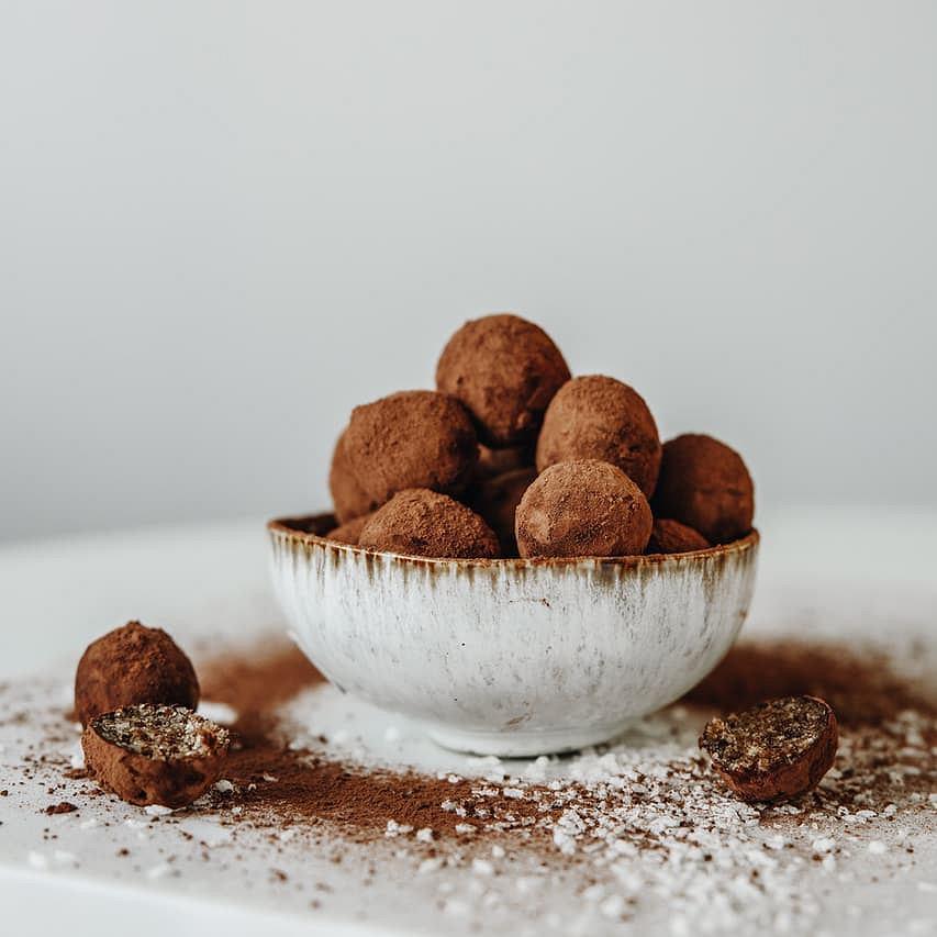 czekoladowe trufle Anny Lewandowskiej
