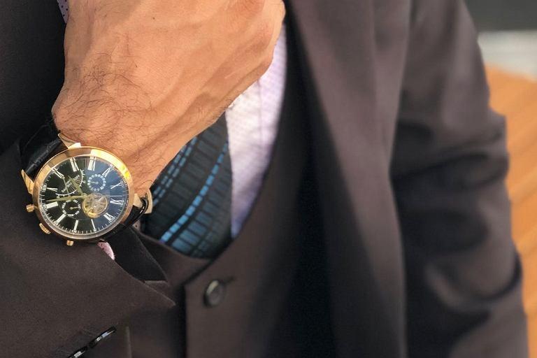 Zegarek męski luksusowej marki