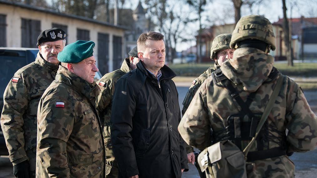 Minister Obrony Mariusz Błaszczak