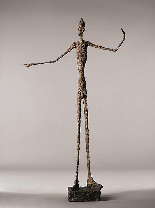 L'Homme au doigt, Giacometti / Wikipedia