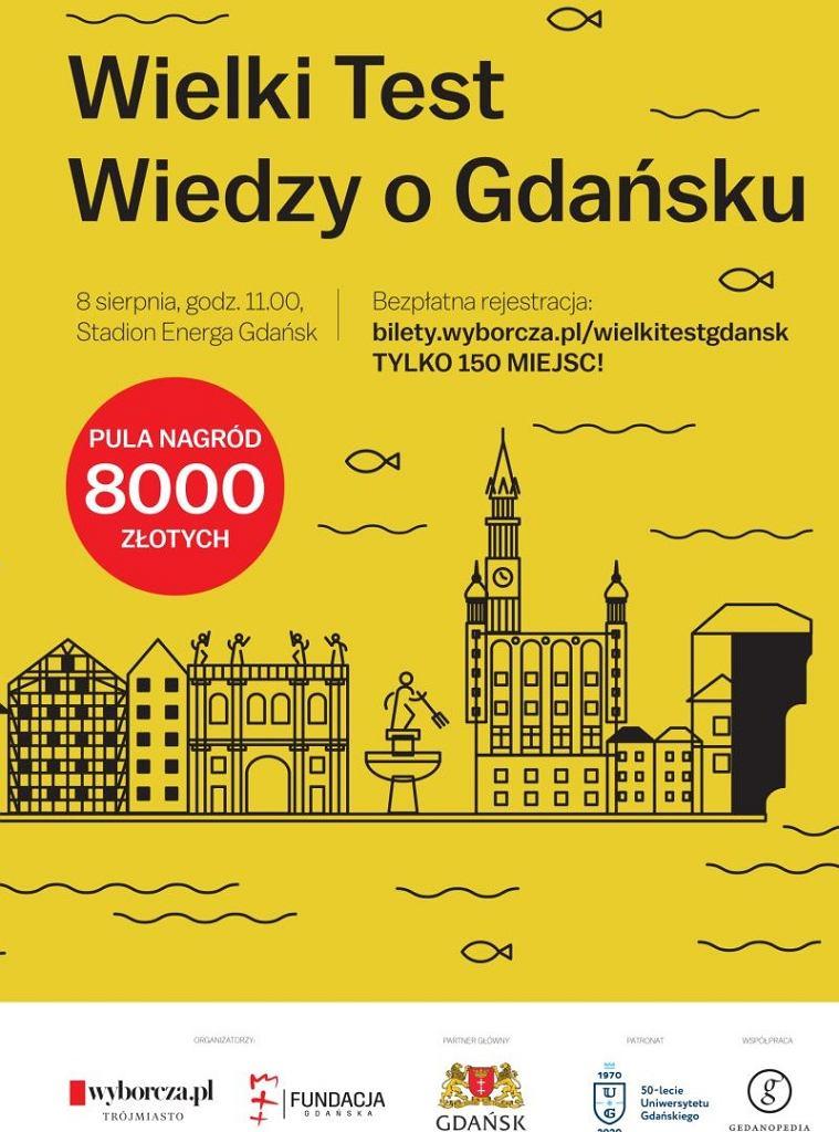 Zapraszamy na Wielki Test Wiedzy o Gdańsku!