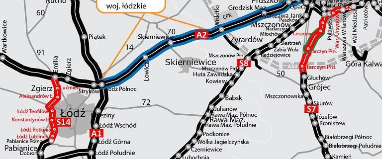 Decyzja zapadła - będzie trzeci pas na A2 pomiędzy Warszawą a Łodzią