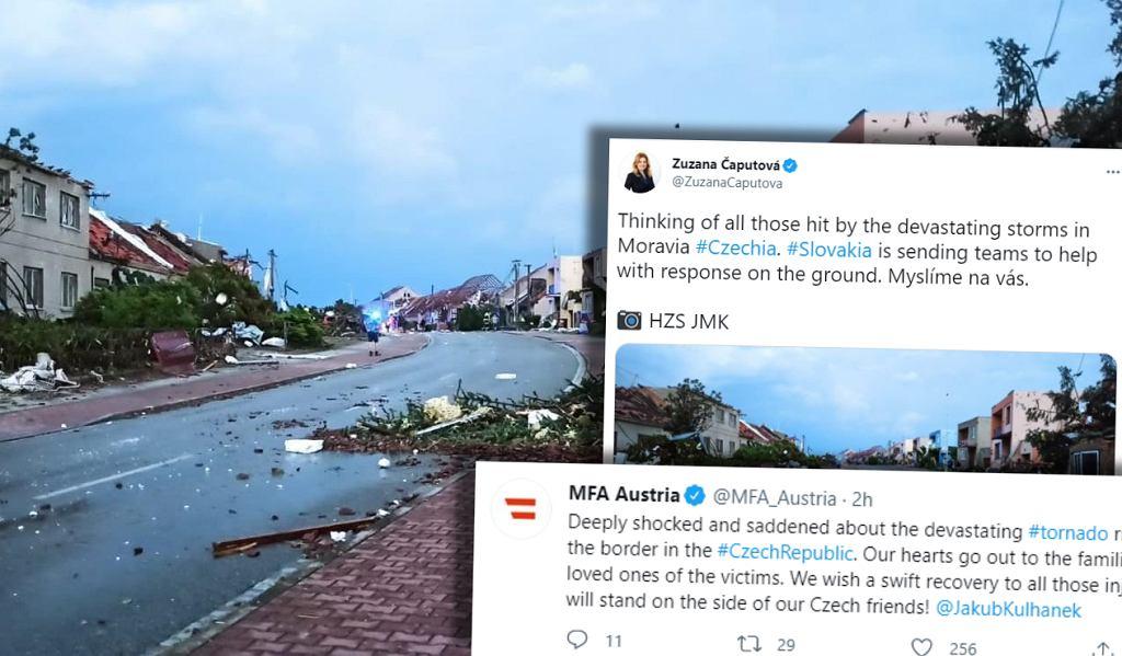 Kraje sąsiedzki przesyłają pomoc do Czech