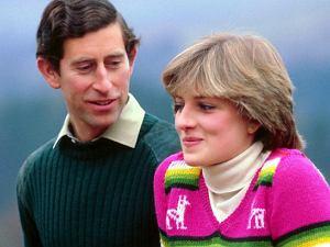 Książa Diana z księciem Karolem