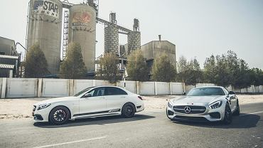 Mercedes-AMG C 63 S i AMG GT S PP-Performance