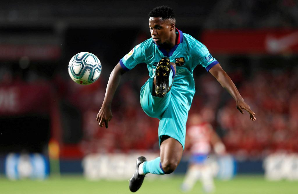 Ansu Fati, kandydat na nową gwiazdę FC Barcelona