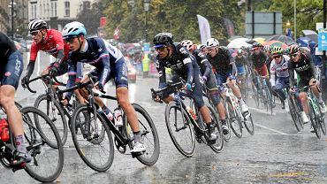 Peleton podczas mistrzostw świata w kolarstwie