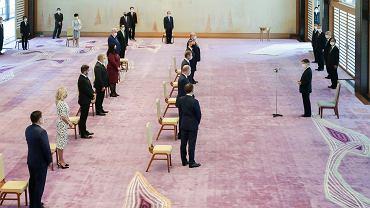Audiencja Andrzeja Dudy u Jego Cesarskiej Mości Cesarza Naruhito