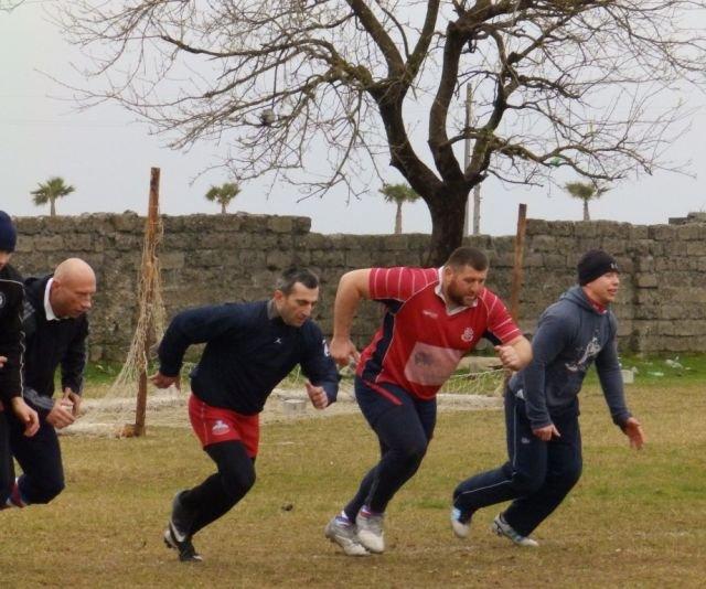 Rugbiści Master Pharm Budowlanych Łódź na zgrupowaniu w Gruzji